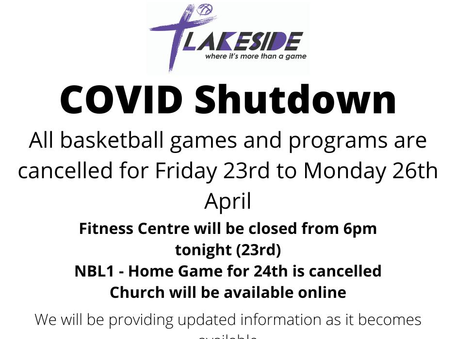 COVID Shutdown