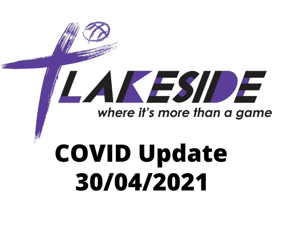 Covid Update 30/04/2021